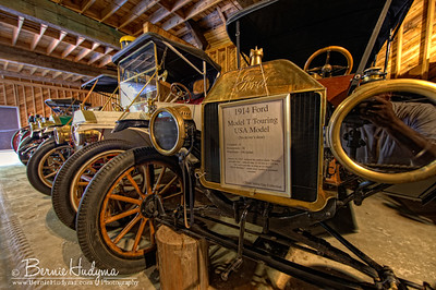 Some mint condition Ford Model T's Three Valley Gap BC A051373