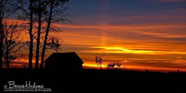 Rose Hill Sunset  Kamloops BC P7206584