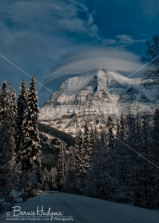 Fresh Snow Fall @ Mt.Robson<br /> C091678