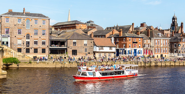 Pleasure Boat - River Ouse York UK 2014