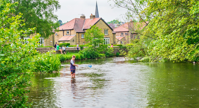The River Wye - Bakewell Derbyshire UK 2016