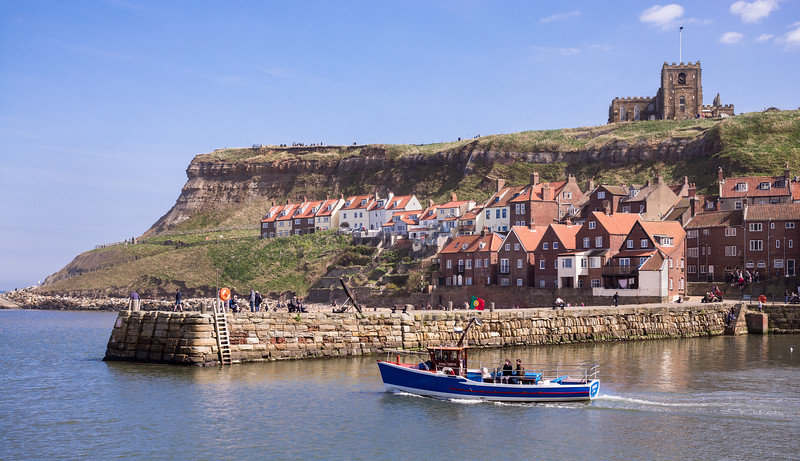 Whitby Harbour - North Yorkshire UK 2017