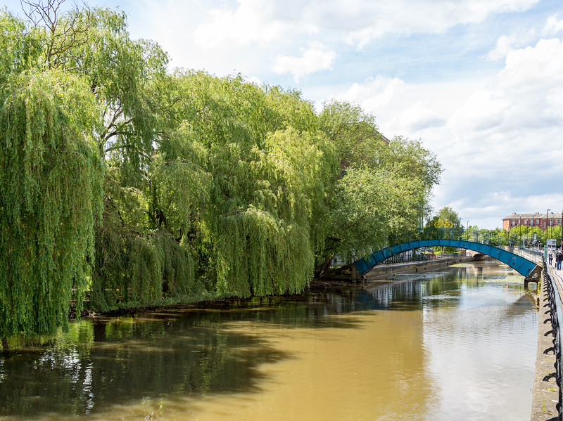 River Foss - York North Yorkshire UK 2014