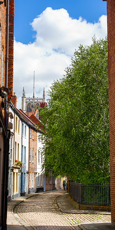 Hull Minster from Dagger Lane - Kingston upon Hull East Yorkshire UK 2020