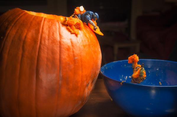 Pumpkin Emptying