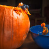 Pumpkin Emptying