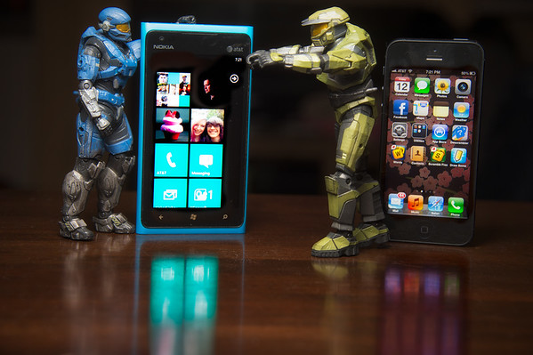 iPhone vs Windows Phone