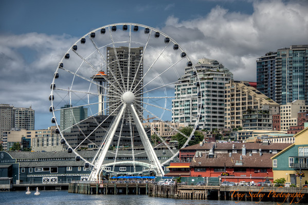 222 Ferris Wheel - Seattle