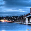 242 I90 Night Bridge - Seattle