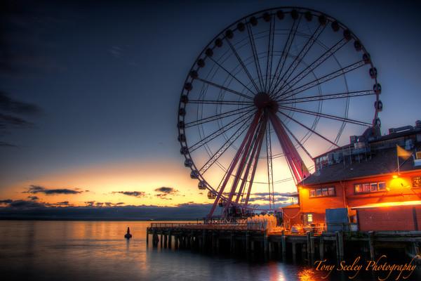 175 Ferris Wheel - Seattle