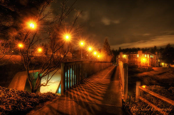082 Night Bridge - Redmond