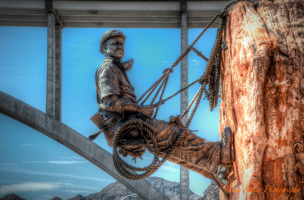 263 Rock Climber - Hoover Dam