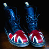 065 Union Jack Boots - Home