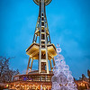 353 Christmas Space Needle - Seattle