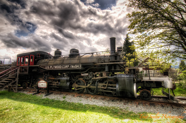 145 Mallet Locomotive - Snoqualmie