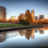 318 City Reflection - Bellevue