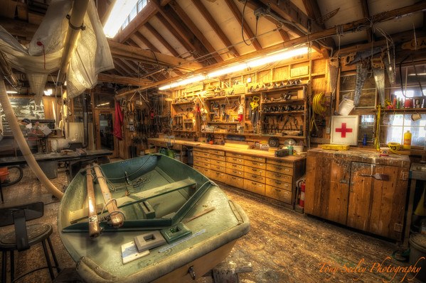 347 Boat Workshop - Seattle