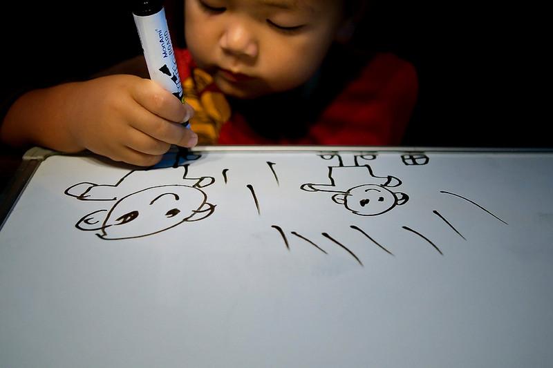 Sep 16 - Drawing Mika and Isabella