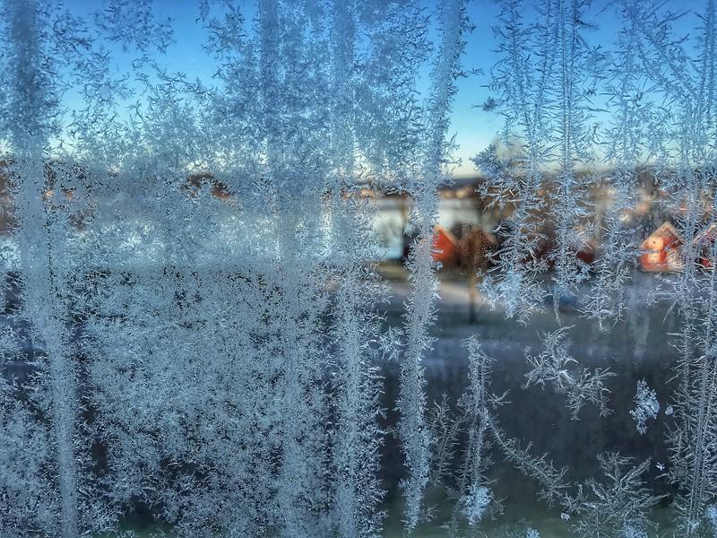 Wednesday Apr 19 - Frosty morning