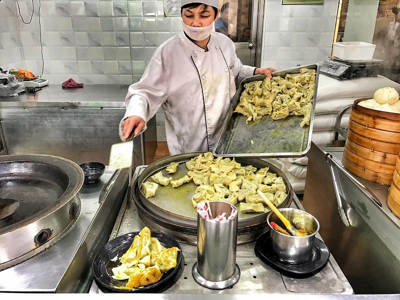 Monday Apr 10 - Dumpling time