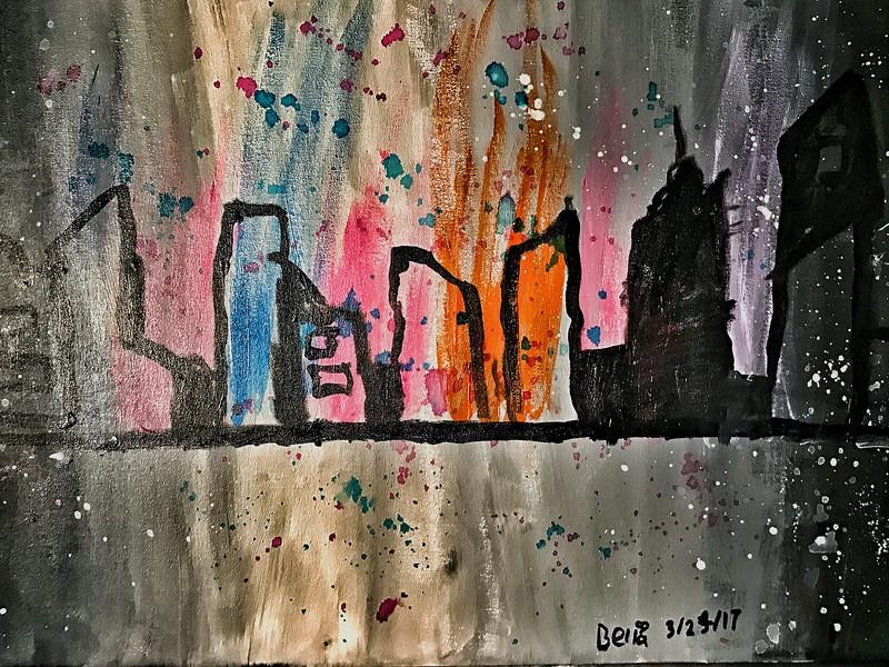Friday Mar 24 - Skyline by Bella