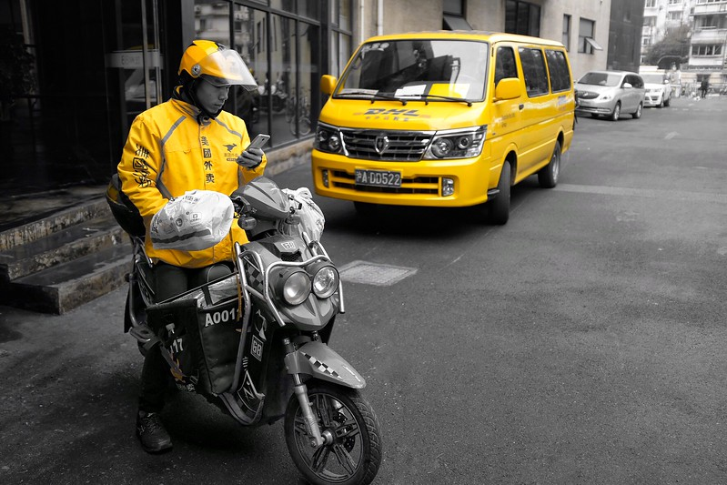 Tuesday Jan 16 - Deliveries in yellow