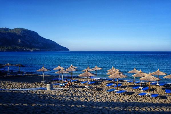 Saturday July 28 - Minos beach