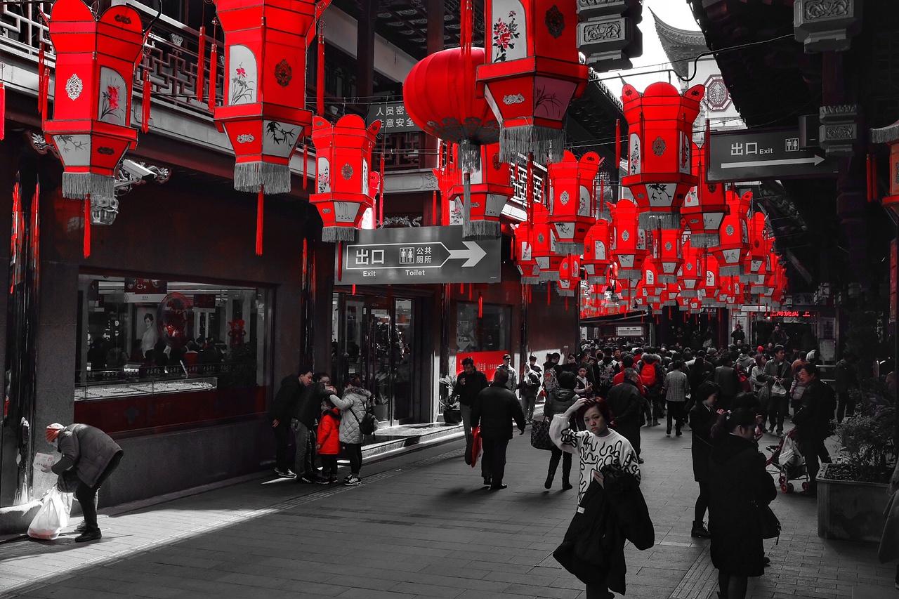 Wednesday Feb 14 - Red lanterns