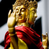 """Peace"" - Sun 17 Aug<br /> <br /> Walking around looking for furniture today, and really really hot... Saw very few interesting things as I was mostly trying to find protection from the sun... Finally saw this Buddha statue outside one shop, and think it came out ok"