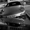 """Porsche"" - Wed 27 Feb<br /> <br /> After a day of meetins and a huge Bavarian dinner, a couple of the guys continued for another beer before walking home. Munich is full of nice cars so a Porsche parked next to the hotel saved the picture of the day"