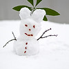 """""""Snowman"""" - Tue 29 Jan<br /> <br /> Yes for sure its snow related today again. even more snow on the ground and hundreds of thousands of people stranded around China trying to get back for Chinese New Year Holidays.<br /> <br /> Me and Hans started a snowman competition out on the terrass, and this is our contribution. Who won? Don't really know as our entrant got trown into the river by someone.."""
