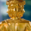 """Four Face Buddha"" - Thu 17 July<br /> <br /> Holiday in Bangkok today, so went for a morning walk around the block. Next to the JW Marriot is the Erawan Shrine, a nice peaceful place to just sit and watch the Thai worshippers of this four-faced Buddha. <br /> <br /> Back home i searched some more info on this and folowing is what Wikipedia says:<br /> <br /> The Erawan Shrine  is a Hindu shrine in Bangkok, Thailand that houses a statue of Phra Phrom, the Thai representation of the Hindu creation god Brahma. A popular tourist attraction, it often features performances by resident Thai dance troupes, who are hired by worshippers in return for seeing their prayers at the shrine answered. On March 21, 2006, a man vandalised the shrine and was subsequently killed by bystanders (!!!!)."