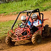 """4WD"" - Fri 20 June<br /> <br /> Friday and Saturday was company outing with around 140 people from the Atlas Copco office in Thailand. Went to a nice adventure resort a couple of hours outside the city, and among other activities, tried some mud riding in these 4WD's"