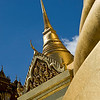 """Grand Palace"" - Sun 22 June<br /> <br /> Day off and some sightseeing. Went to take pictures at the Grand Palace and then a nostalgic lunch at the Kao Sarn Rd area, where we back-packed almost 20 years ago (still looks the same)"