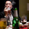 """""""Smoke"""" - Sun 16 Mar<br /> <br /> First day of my China sales meeting finished and then dinner in hotel followed by karaoke again...<br /> <br /> Here Edward enjoying his cigarettes"""