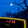 """""""Blue Moon"""" - Thu 20 Mar<br /> <br /> Hectic day in office and full moon on the way back home"""