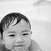 """Bath"" - Fri 24 Oct<br /> <br /> Back again in Bangkok and Mika wanted me to watch him take a bath."
