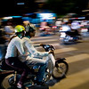 """""""Two wheeler race"""" - Mon 27 Oct<br /> <br /> Arrived late in Hanoi, checked in and went down the street to feel the atmosphere. Shocked by the amount of motorbikes on the streets, they are for sure in a ratio of 10 to 1 versus cars... amazing!! You have to see it to believe it"""
