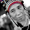 """""""tribe woman"""" - Sun 12 Oct<br /> <br /> Hans Alvin in town and we spent a great afternoon in the back packers area - Kao Sarn Rd. It still looks the same as 89 when I came the first time, including the minority women selling all type of stuff"""