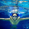 """Deep Blue"" - Sat 6 Sep<br /> <br /> Nice to be home for the whole weekend (as last two weekends have been short due to traveling), and that means at least a few hours in the pool with the family. They are now both much more confident in the water,and spend equal time above and below the surface.<br /> <br /> Here the waterproof Olympus 1030SW comes very handy - highly recommended!! (too bad here that the picture is not wide enough, should have had both hands in it, but as i can not look under water, it's all ""hope for the best"" when pressing the shutter)"