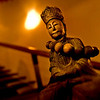 """""""Tranquillity"""" - Wed 10 Sep<br /> <br /> A simple pic today of my old wooden Buddha bought many years ago in Beijing. No inspiration at all today for pictures...."""