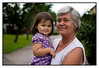 Thu 19 Aug - With grandmother<br /> <br /> Another slow day at home. Some shopping and then i went for a run. Took mum and Isabella out for a picture so she could update her collection of grandkid pictures...<br /> <br /> Tomorrow off to Stockholm for the weekend