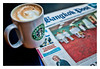 Grande Cappuccino and Bangkok Post