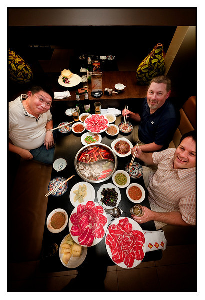 Wed 7 July - Hotpot King<br /> <br /> Secon day of meetings at Regal on Hengshan rd and then Hotpot King with the whole team. Great food and nice to see old colleagues again : )