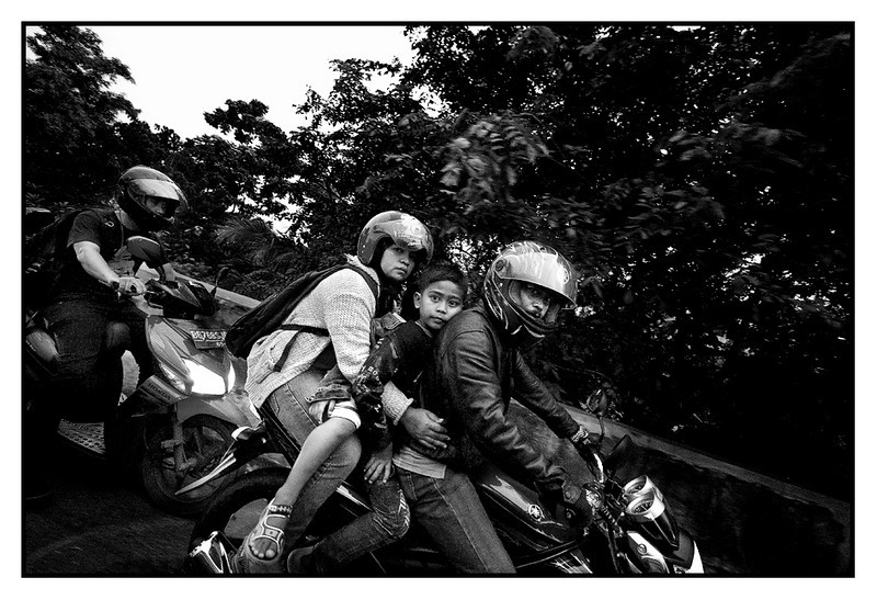 Wed 23 June - Jakarta bikes<br /> <br /> From Jakarta office to Hotel is a mere 5km but it can sometimes take 45 min due to heavy traffic... Tens of thousands on motorbikes fighting for space with the cars...<br /> <br /> Tomorrow early morning off to Malaysia and some seminars for customers, arranged at our distributors office