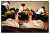 Sun 28 March - Foot massage<br /> <br /> Today customer golf tournament and I brought my camera but without memory card !!! Getting old... Anyway, second day of great golf (not score though) meant my feet and legs were really tired. Nothing that a good foot massage can not fix