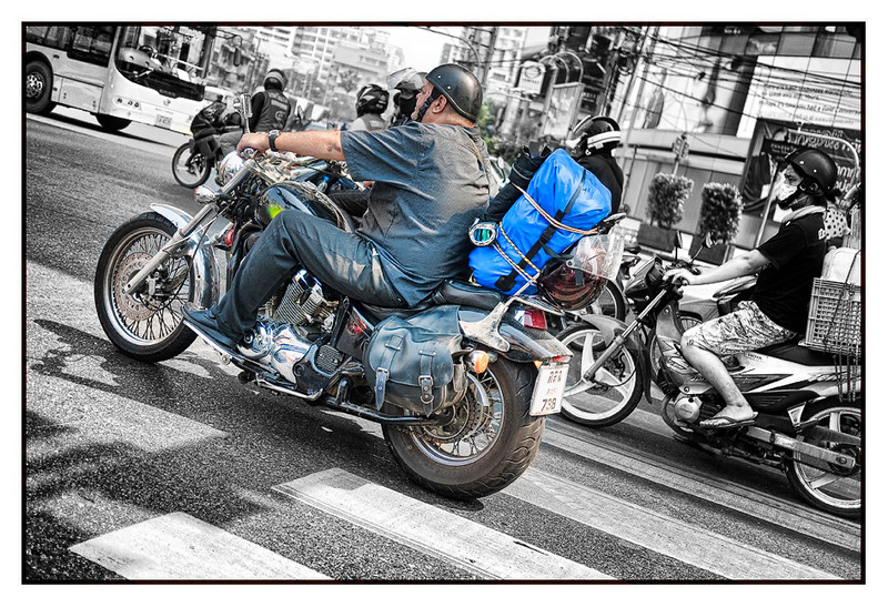 Harley man, Asok intersection