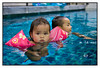 Thu 20 May - Pool time<br /> <br /> Today company closed and Bangkok is cleaning up after yesterdays rampage. Coffee at Starbucks in the morning then rest of the day home, swimming with the kids... Isabella getting really good now, and does not try to drink the whole pool any longer : )<br /> <br /> Curfew still in place until Saturday, and then for the weekend i go down and take some pictures of the destruction. Can not imagine Central World gone...