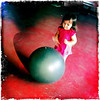 Sun 28 Nov - Exersize<br /> <br /> Kids super happy when dad is back home again, and taking a colleague's car instead of bus back from Koh Chang, means i got at least a half day left of the weekend with the kids. Isabella wanted to go to the local Thaiboxing place to run around and try the exersize equipment...