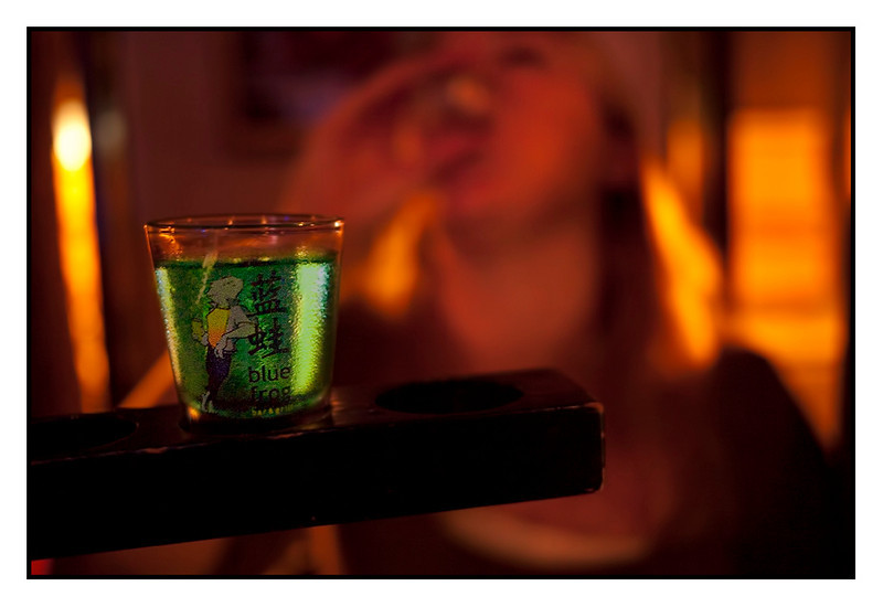Fri 22 Oct - Blue Frog<br /> <br /> Long board meeting and then i had asked friends to show up at Blue Frog for drinks. Great night out with some 10-12 friends joining. After beers we moved on to shots... dangerous...